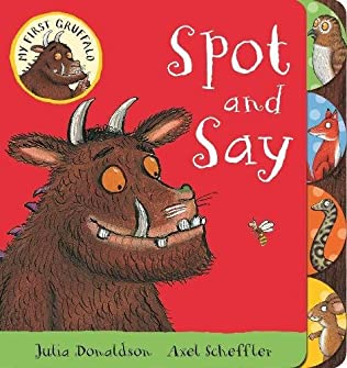 book cover of Spot and Say