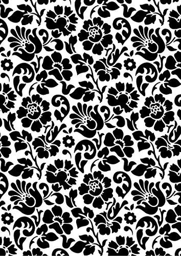 d-c-fix, Folie, Design Barock schwarz, selbstklebend, 45 cm breit, je lfm