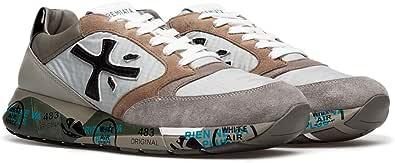PREMIATA Zac Zac 4973 Sneaker Uomo in Pelle CAMOSCIO Chiaro