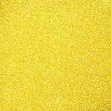 Dekosand / Farbsand (0,1 - 0,5 mm), 1 kg, gelb