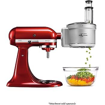 Amazon De Kitchenaid 5ksm2fpa Food Processoraufsatz
