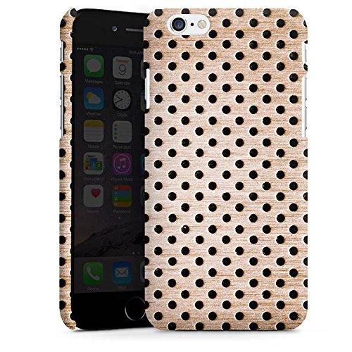 Apple iPhone X Silikon Hülle Case Schutzhülle Bronze Lochblech Metall Premium Case matt