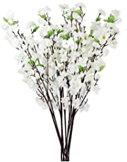 Hyperbole Plastic Artificial Blossom Bunch, 9 Sticks, 45cm(Multicolour)