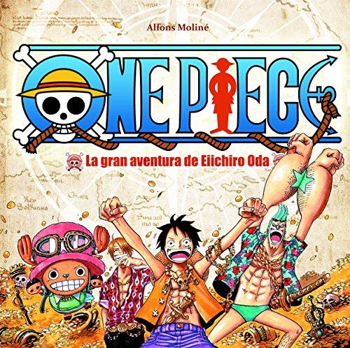 Portada del libro One Piece: La gran aventura de Eiichiro Oda (Manga (tebeos Dolmen))