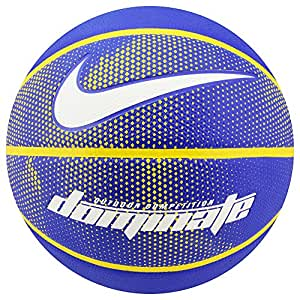 Nike Erwachsene Dominate 8P492 Basketball Rush Blue/Amarillo/White, 5