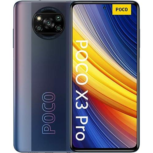 "POCO X3 Pro - Smartphone 6+128GB, 6,67"" 120Hz FHD+DotDisplay, Snapdragon 860, 48MP Quad Camera, 5160mAh, Phantom Black"