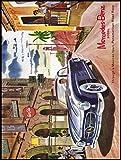 Mercedes Benz Auto Schild retro Metall blechschild Wandschild Neuheit Geschenk