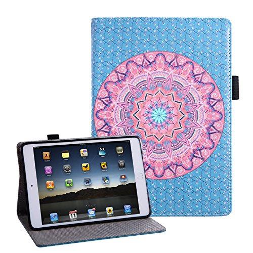 HDE HDE-50449 Tablet-Schutzhülle, Apple iPad Mini 2, Mandala, Stück: 1 (Ipad Mini Retina Case-portfolio)