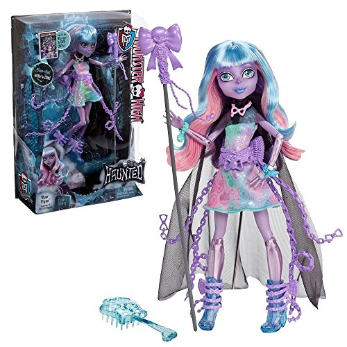 Puppen Geist Monster High (MONSTER HIGH Puppe - Verspukt Geisterschülerin River Styxx)