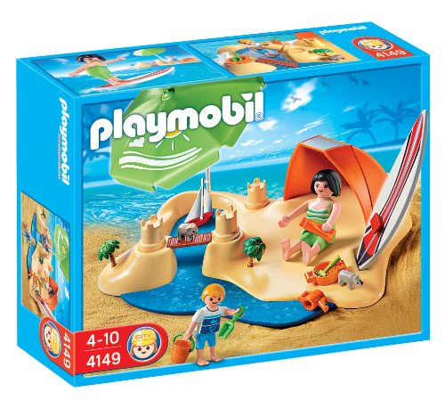 Playmobil Vacaciones - Compact Set Playa (626009)