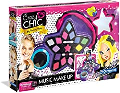Idea Regalo - Clementoni 15137 - Crazy Chic - Music Make up