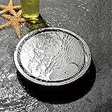 Pei Bodenablauf Dusche Edelstahl Duschablauf Badablauf Bodenabfluss Duschablaufrinne Boden Ablauf Rinne,110X110mm