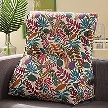 ZGB's Spring Almohadilla de triángulo de lona de algodón Desmontable superior de espesor de respaldo lumbar extraíble lavable ( Color : 6# )