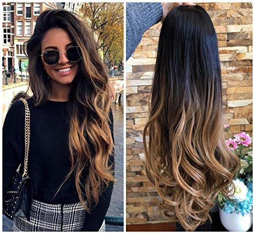 Ladies 3/4 Wig Fall Clip In Hair...
