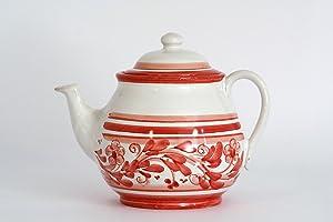 Teiera in ceramica di Caltagirone