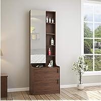 @home by Nilkamal Serra Engineered Wood Dresser With Mirror in Wenge Finish
