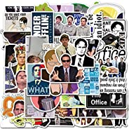 The Office Stickers Pack of 50 Pcs Stickers for Laptops, Skateboard, Luggage, Travel Case Funny Waterproof Vin