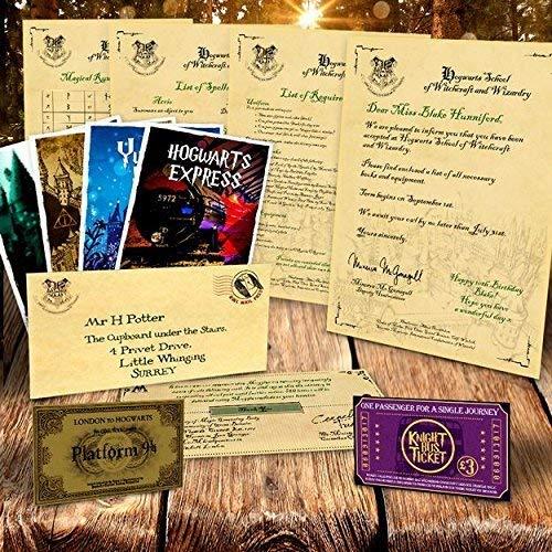 personalisiert Harry Potter Annahme Brief Hogwarts Weihnachtsgeschenke Geschenke
