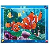 Dinotoys 322110 Hochwertiger Schreibtisch Puzzle mit Rahmen;Nemo Motiv Finden, 40 Stück