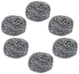 Gala Steel Scrubber Combo Set (Pack of 6...
