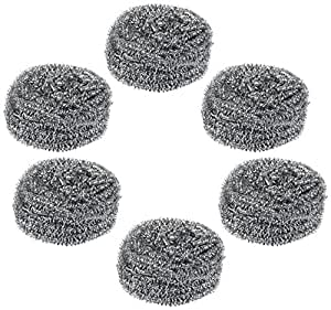 Gala Steel Scrubber Combo Set (Pack of 6)