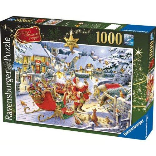 Ravensburger Babbo Natale Supper Jigsaw Puzzle (1000 Pezzi)