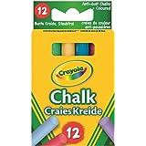 Crayola 01.0281 - Set di gessetti colorati, 12 pz.