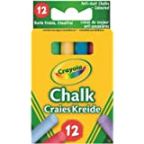Crayola Muilti Coloured Chalk 12 Pack