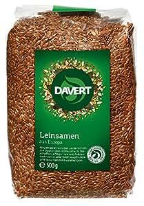 Davert Leinsamen, 4er Pack (4 x 500 g)
