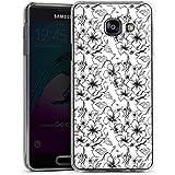 Samsung Galaxy A3 (2016) Housse Étui Protection Coque Fleurs Fleurs Vintage Rétro Collection