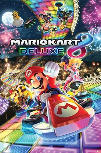 Preisvergleich Produktbild Nintendo Mario Kart 8 'Deluxe' Maxi Poster,  61 x 91.5 cm Mehrfarbig
