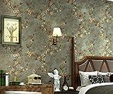 reyqing Stereo Drücken, Vlies, Schlafzimmer, Wohnzimmer, Sofa, TV, Hintergrund Wand, Tapete, bronze