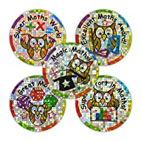 """Sticker Solutions 28 mm""""Maths Sparkling Variety Pack"""" Sticker (Pack of 125)"""