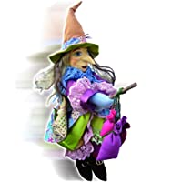Witches of Pendle - Lucinda Witch Flying (Floral) 45cm