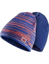 a4944029e3e Nike Youth Unisex Junior Reversible Beanie hat Blue Orange