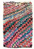 Trendcarpet Tappeto Berberi dal Marocco Boucherouite 225 x 140 cm