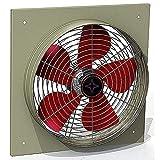 Best ventiladores industriales - 400mm Ventilador Industrial 4500m3/h Ventilación Extractor Ventiladores ventiladore Review