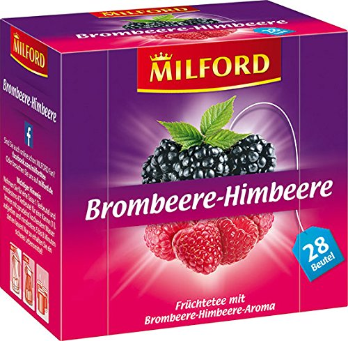 Milford Brombeere-Himbeere 28 x 2.25 g, 6er Pack (6 x 63 g)