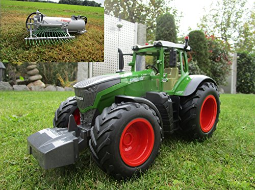 RC Traktor Fendt 1050 Vario mit Fassanhänger-ca 80 cm 1:16