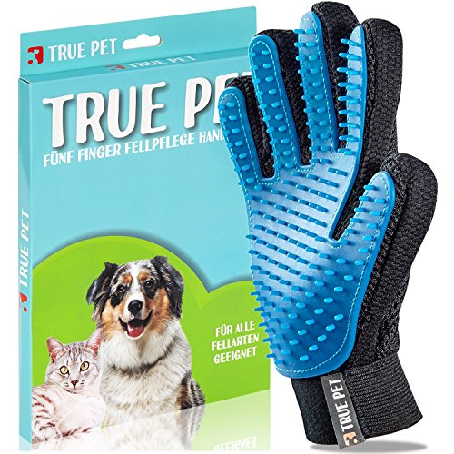 TRUE PET - Fellpflegehandschuh f...