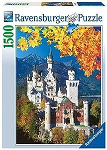 Ravensburger - 16386 - Puzzle Classique - Neuschwanstein en Automne - 1500 Pièces