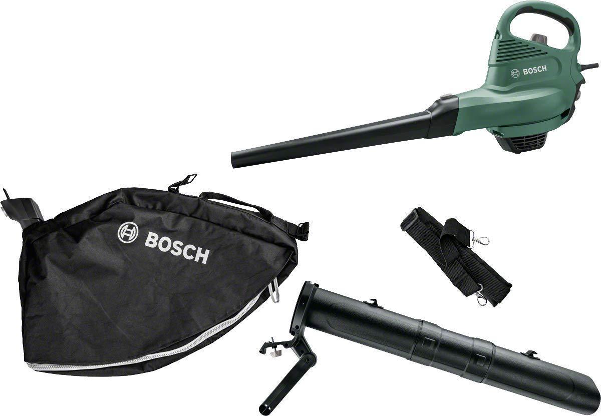 Bosch Laubsauger/Laubbläser UniversalGardenTidy (06008B1000), 285 km/h