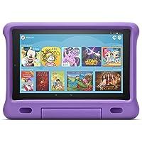 Das neue Fire HD 10 Kids Edition-Tablet   10,1 Zoll, 1080p Full HD-Display, 32 GB, violette kindgerechte Hülle
