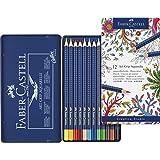 Farbstift Art Grip - Caja de lápices acuarelables (12 colores)