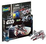 Revell Modellbausatz Star Wars Obi Wan's Jedi Starfighter im Maßstab 1:58, Level 3, originalgetreue Nachbildung mit vielen Details, Model Set mit Basiszubehör, einfaches Kleben und Bemalen, 63607