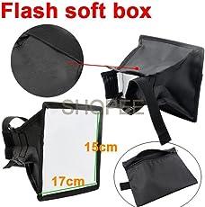 SHOPEE BRANDED 15 x 17cm Universal Cloth Flash Bounce Diffuser for Canon Nikon Sony yongnuo