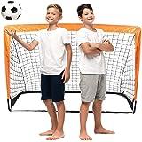 Raroauf vikbar grind, fotbollströja popup fotbollsmål vikbar fotbollsmål för barn trädgård fotbollsgrind fotbollsbollmål 120