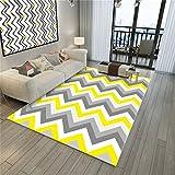 Wohnzimmer Dekorative Teppich Bodenmatte Europäischen Geometrische Muster Einfachen Stil 3D Druck Rechteckigen Teppich Geometrische Muster Schlafzimmer rutschfeste Teppich Kinderteppich Teppich Teppiche