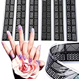 New 6 Styles/set Reusable Nail Art Stamp...