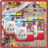 Febreze 3 x 3Volution Duftstecker Starterkit Weihnachtsduft Apfel & Zimt